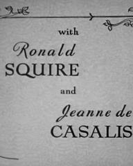 Main title from Woman Hater (1948) (5). With Ronald Squire and Jeanne De Casalis