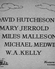 Main title from Woman Hater (1948) (6). David Hutcheson, Mary Jerrold, Miles Malleson, Michael Medwin, W A Kelly