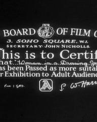 Main title from Woman in a Dressing Gown (1957) (1)