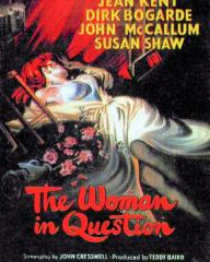 Poster for The Woman in Question (1950) (1)