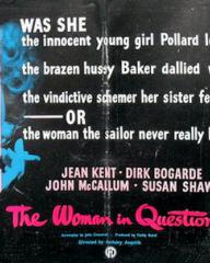 Poster for The Woman in Question (1950) (2)