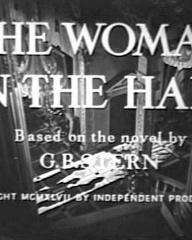 Main title from The Woman in the Hall (1947)