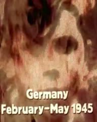 Main title from the 1974 'Nemesis' episode of The World at War (1973-1974) (2). Germany. February-May 1945