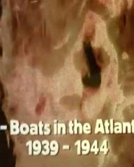 Main title from the 1974 'Wolf Pack' episode of The World at War (1973-74) (2). U-Boats in the Atlantic 1939-1944