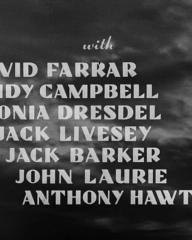 Main title from The World Owes Me a Living (1945) (4). With David Farrar, Judy Campbell, Sonia Dresdel, Jack Livesey, John Laurie, Anthony Hawtrey