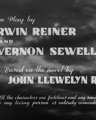Main title from The World Owes Me a Living (1945) (5)