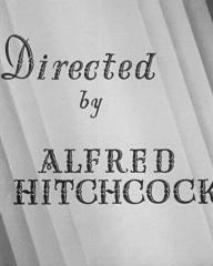 Main title from Young and Innocent (1937) (4)