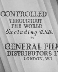 Main title from Young and Innocent (1937) (6)