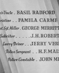 Main title from Young and Innocent (1937) (8). Basil Radford, Pamela Carme, George Merritt, J H Roberts, Jerry Verno, H F Maltby
