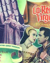 Spanish lobby card from Young Bess (1953) (1)
