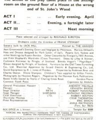 Programme from Young Wives' Tale (1949) at the Savoy Theatre, London (3)