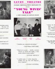 Poster for Young Wives' Tale (1949) (1)