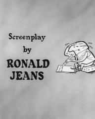 Main title from Your Money or Your Wife (1960) (5).  Screenplay by Ronald Jeans