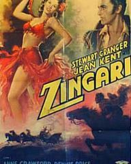 Italian poster for Zingari [Caravan] (1946) (1)