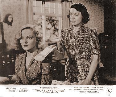 Lobby card from Thursday's Child (1943) (1)
