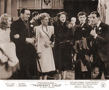 Lobby card from Thursday's Child (1943) (2)