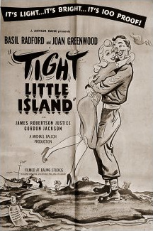 Poster for Tight Little Island [Whisky Galore!] (1949) (1)