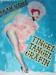 German poster for Tingel Tangel Grafin [Trottie True] (1949) (1)