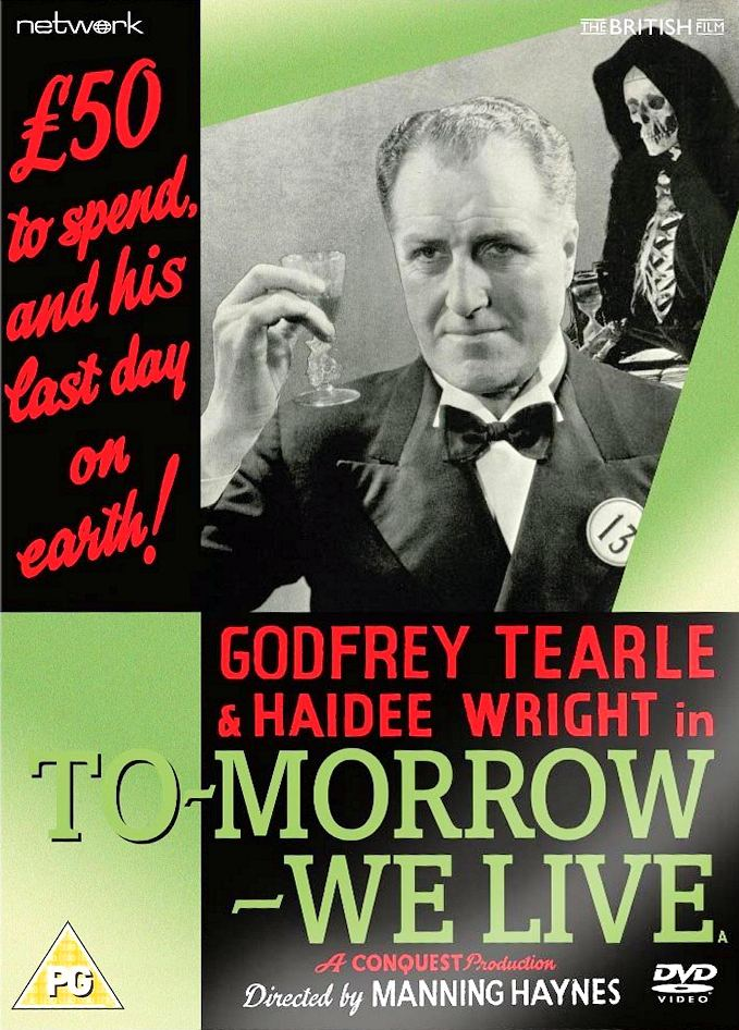 To-morrow – We Live DVD from Network and the British Film.  Features Godfrey Tearle as Sir Charles Hendra