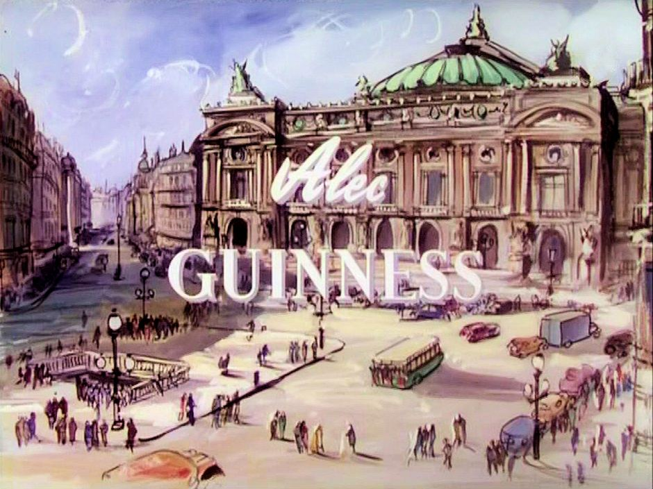 Main title from To Paris with Love (1955) (2).  Alec Guinness
