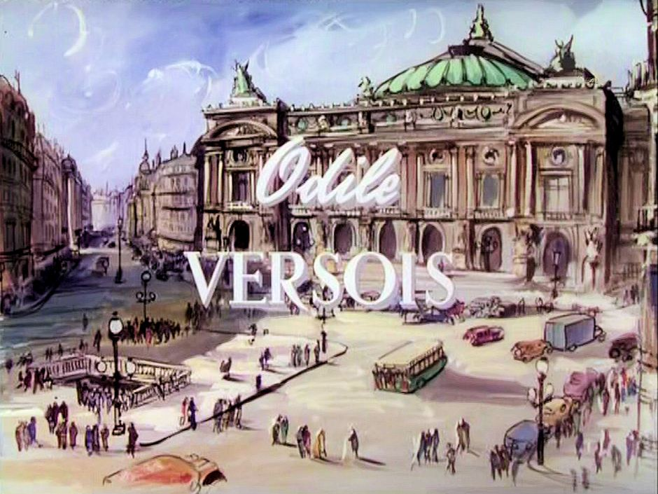 Main title from To Paris with Love (1955) (3).  Odile Versois
