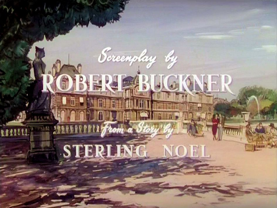 Main title from To Paris with Love (1955) (7).  Screenplay by Robert Buckner.  From a story by Sterling Noel