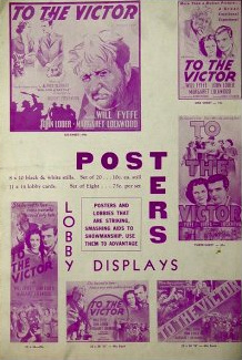 Poster for To The Victor [Owd Bob] (1938) (3)