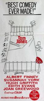 Australian poster for Tom Jones (1963) (1)