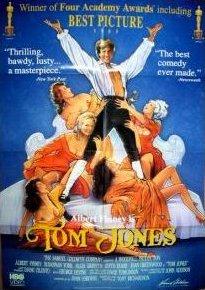 DVD cover of Tom Jones (1963) (1)