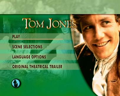 DVD cover of Tom Jones (1963) (2)