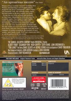 DVD cover of Tom Jones (1963) (4)