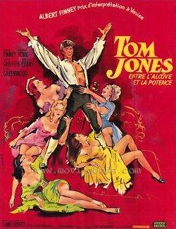 French poster for Tom Jones (1963) (2)