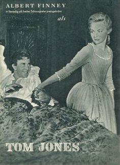 German poster for Tom Jones (1963) (2)