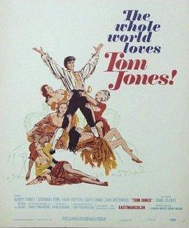 Poster for Tom Jones (1963) (3)