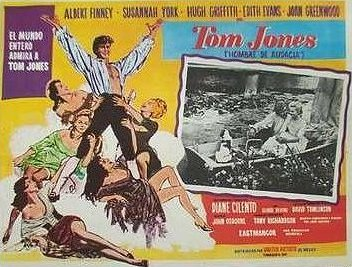 Spanish lobby card from Tom Jones (1963) (1)