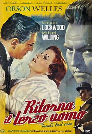 Italian DVD cover of Trent's Last Case (1952) (1)