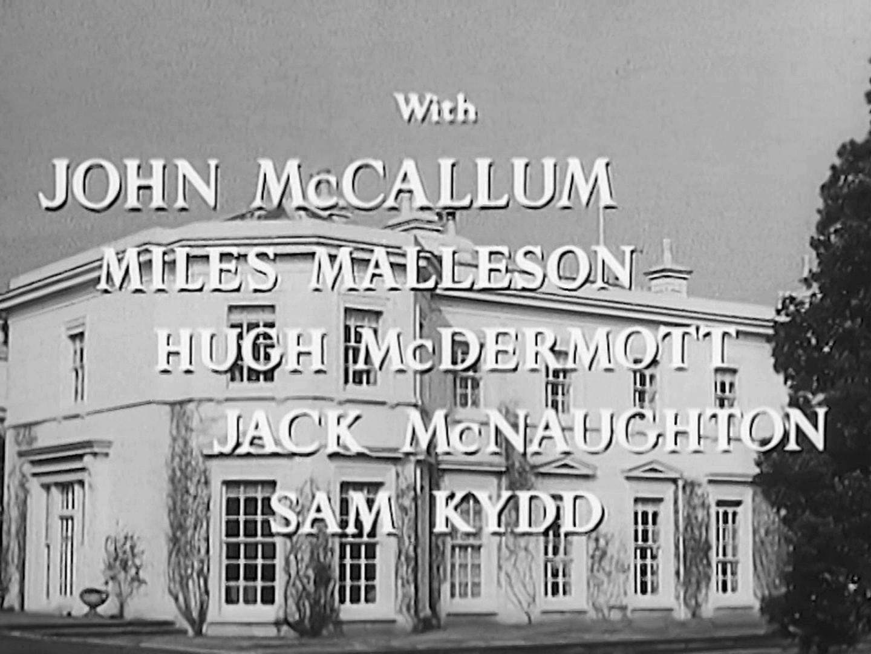 Main title from Trent's Last Case (1952) (5). With John McCallum, Miles Malleson, Hugh McDermott, Jack McNaughton, Sam Kydd