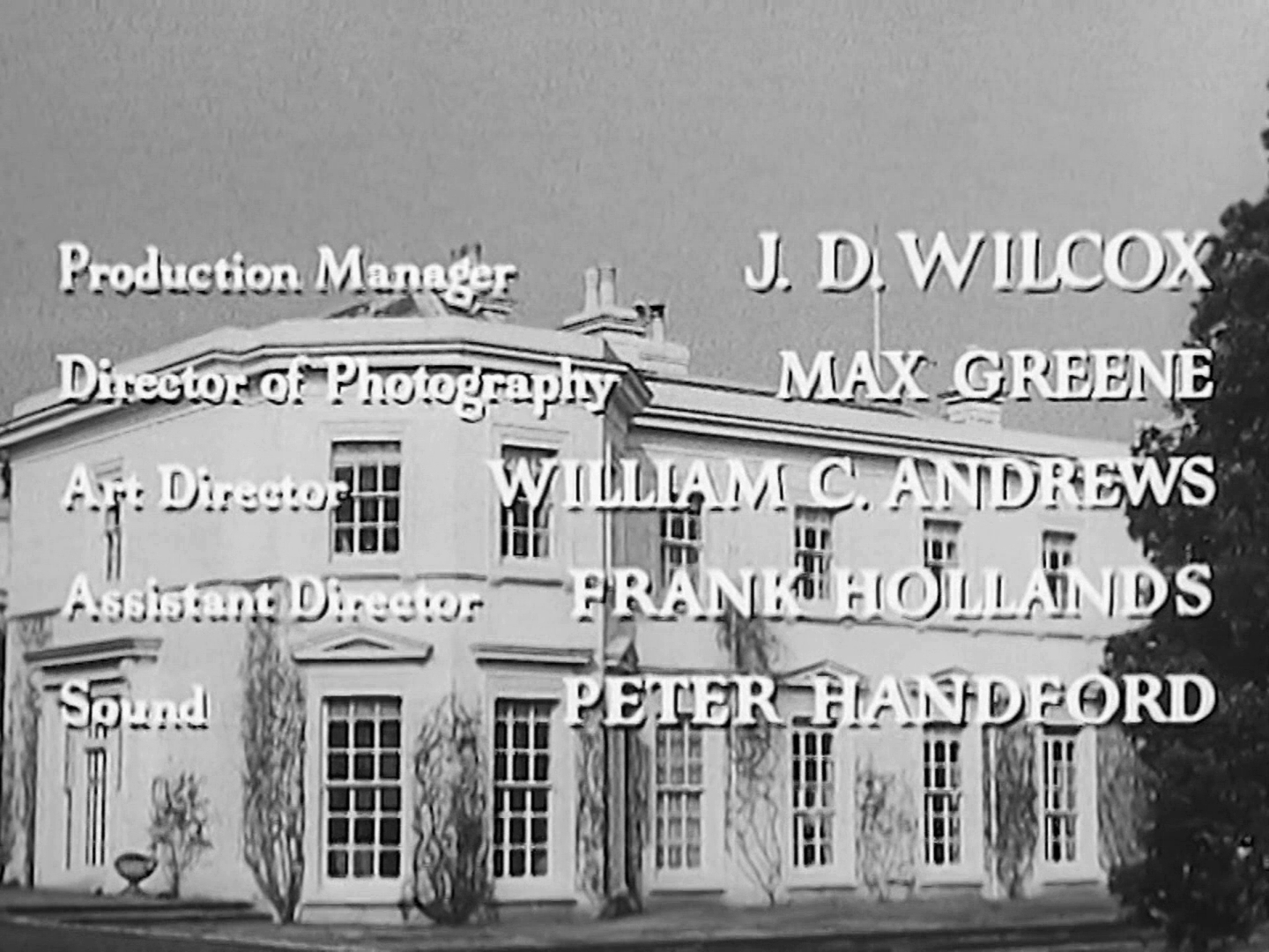 Main title from Trent's Last Case (1952) (8)