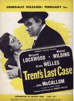 Poster for Trent's Last Case (1952) (1)