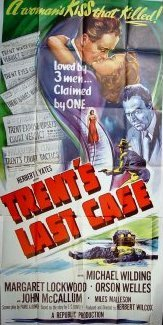 Poster for Trent's Last Case (1952) (7)