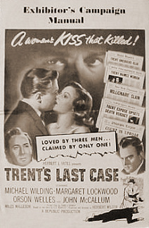 Pressbook for Trent's Last Case (1952) (1)