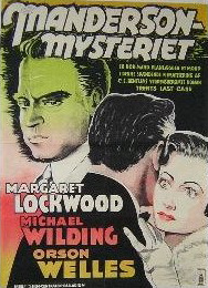 Swedish poster for Trent's Last Case (1952) (1)