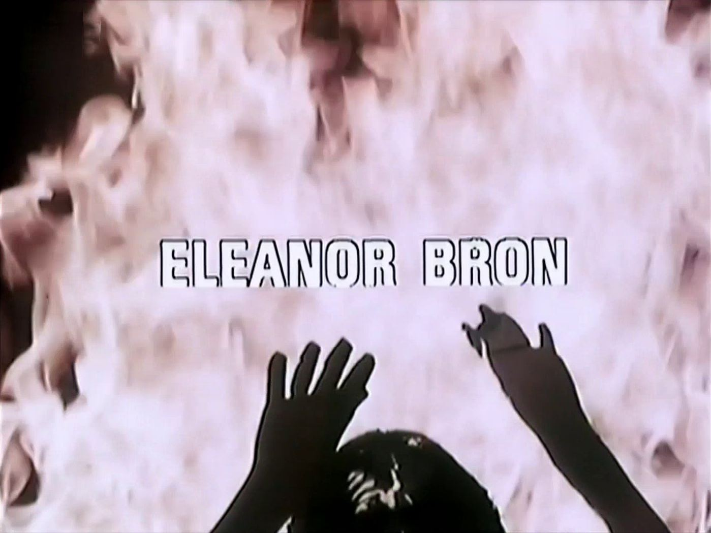 Opening credits from the 1983 'The Tribute' episode of Tales of the Unexpected (1979-1988) (3). Eleanor Bron