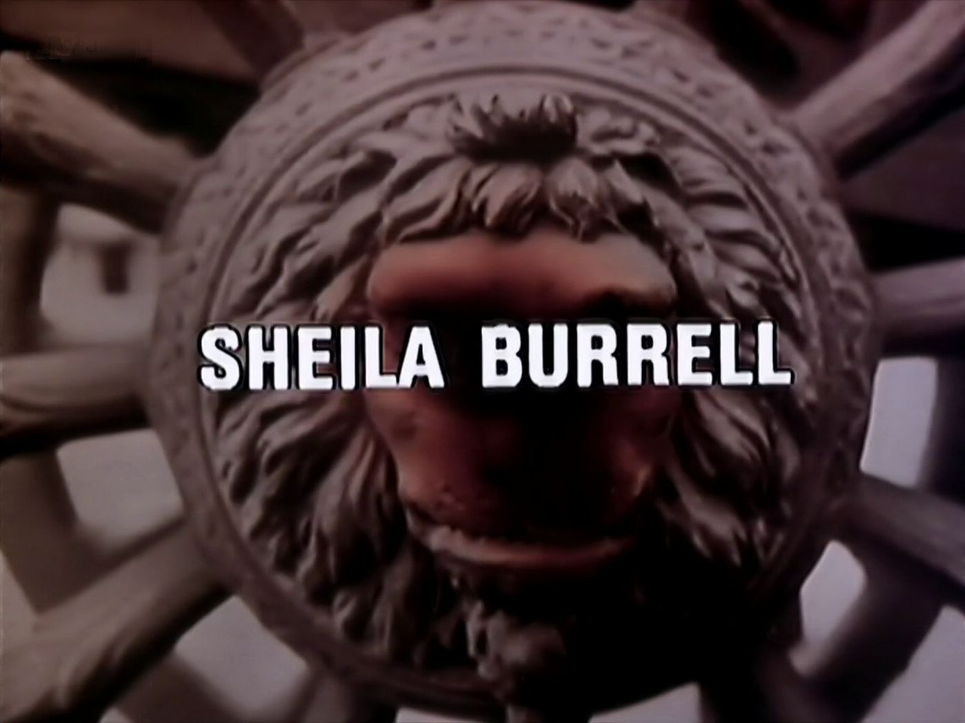 Opening credits from the 1983 'The Tribute' episode of Tales of the Unexpected (1979-1988) (4). Sheila Burrell