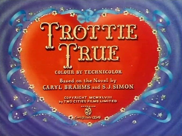 Main title from Trottie True (1949)