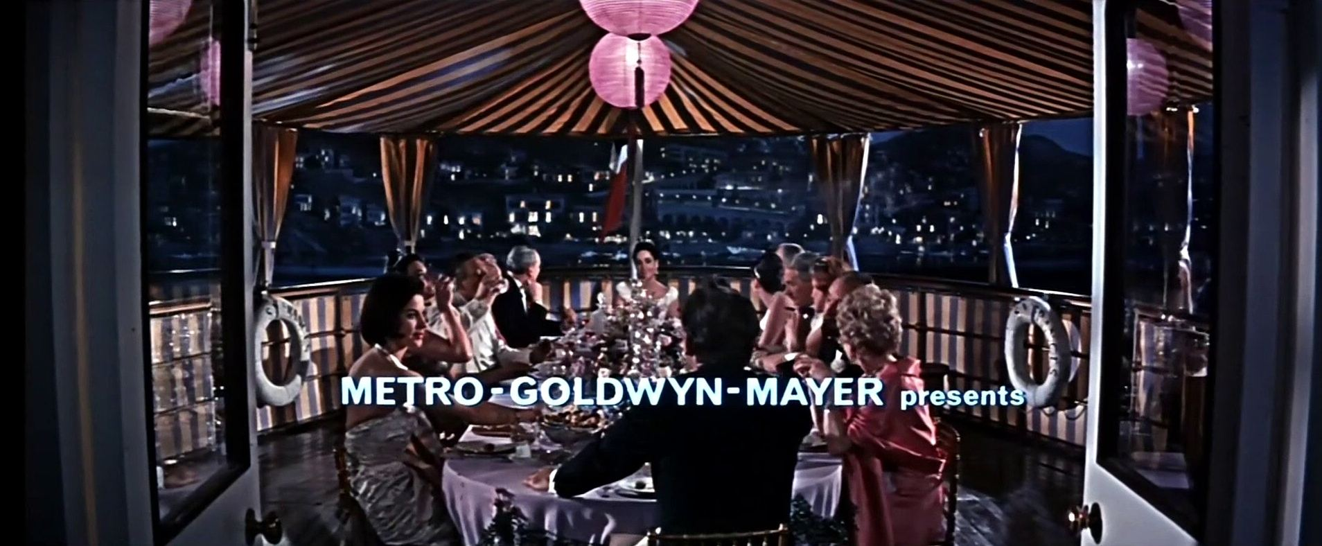 Main title from The VIPs (1963) (2). Metro-Goldwyn-Mayer presents