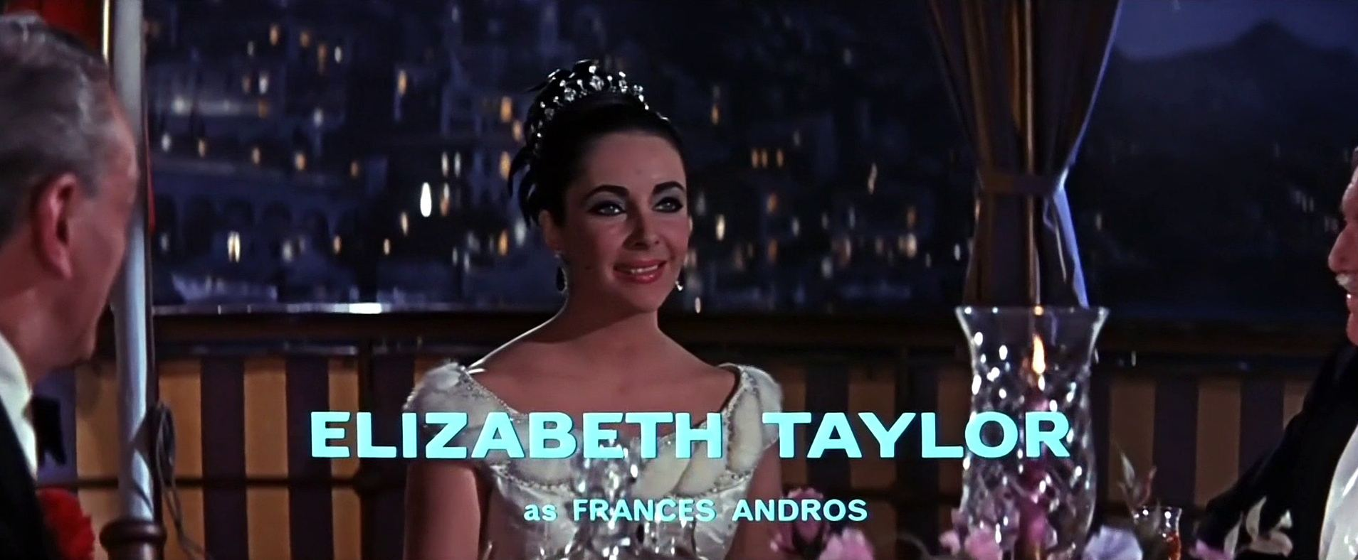 Main title from The VIPs (1963) (3). Elizabeth Taylor as Frances Andros