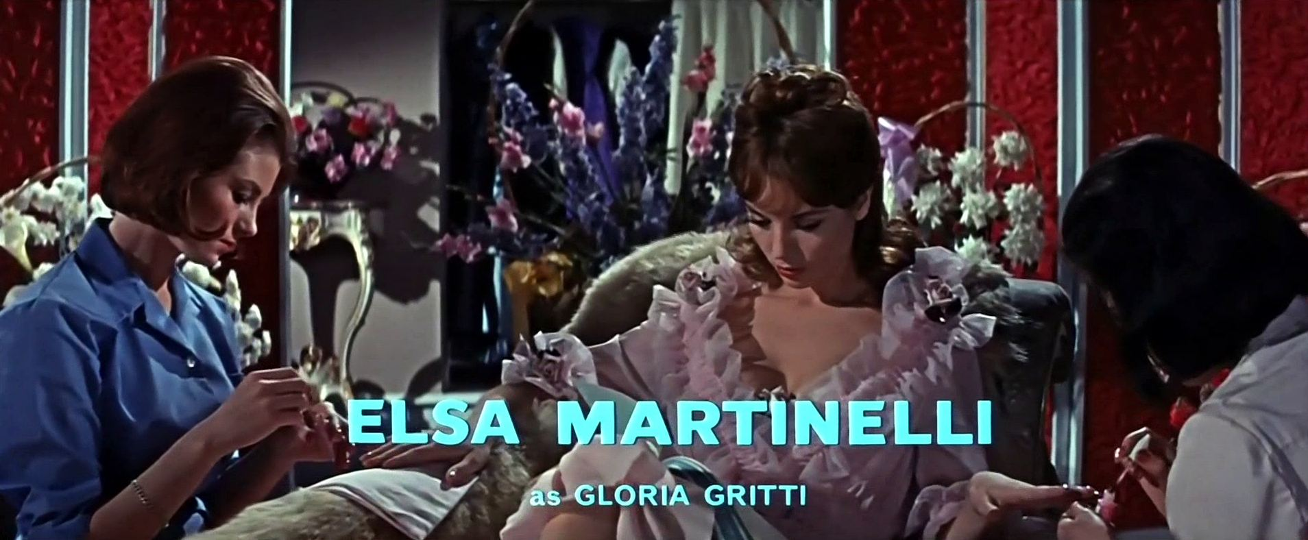 Main title from The VIPs (1963) (6). Elsa Martinelli as Gloria Gritti