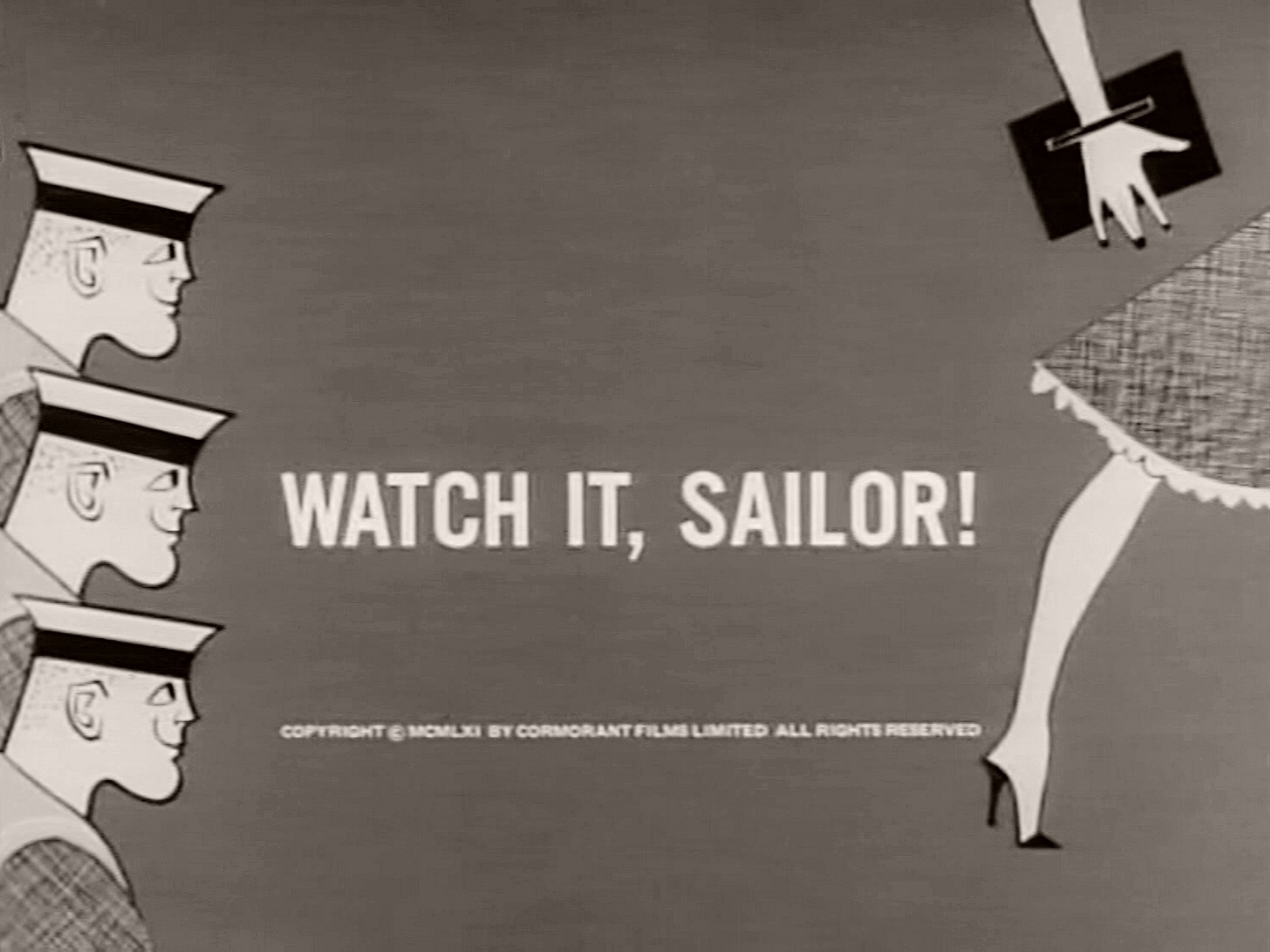 Main title from Watch It, Sailor! (1961) (3)