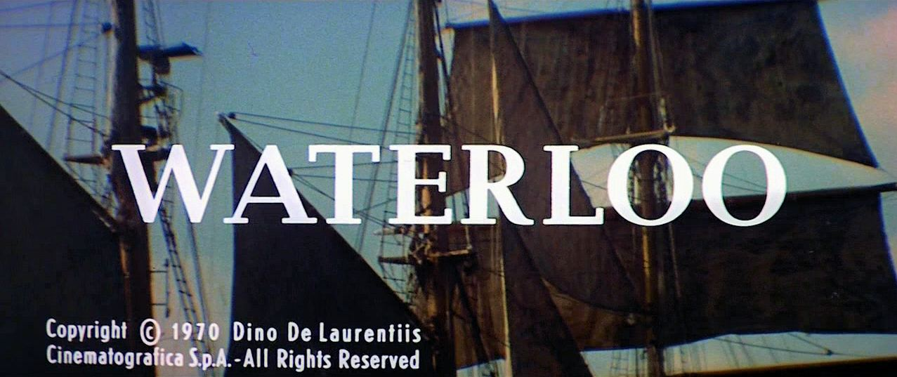 Main title from Waterloo (1970)